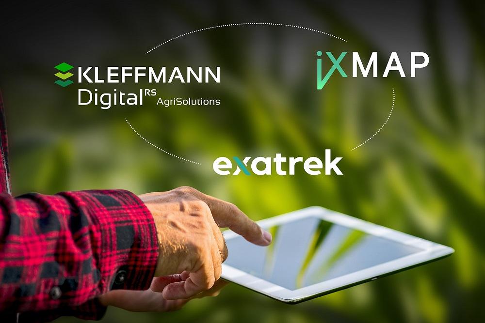 iXMAP, exatrek und Kleffmann Digital vereinbaren Entwicklungspartnerschaft